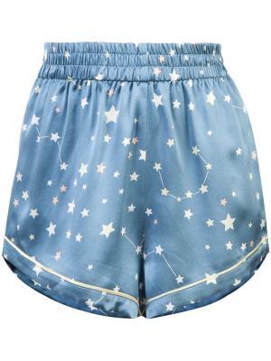 Chloe pyjama shorts Morgan Lane. Цвет: синий