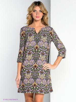 Платье ZARINA. Цвет: сиреневый, бежевый, черный, зеленый