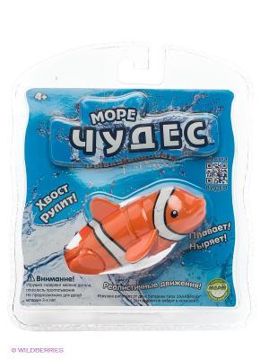 Робо-рыбка акробат Лакки Море Чудес. Цвет: голубой