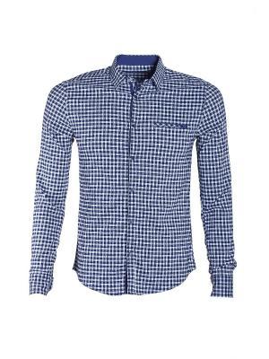 Рубашка Dairos. Цвет: синий, голубой