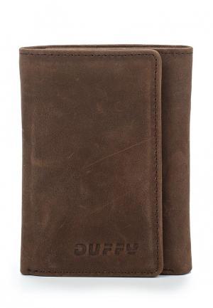 Кошелек Duffy. Цвет: коричневый