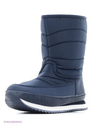 Ботинки Makfly. Цвет: синий