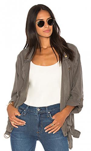 Куртка seattle YFB CLOTHING. Цвет: серый