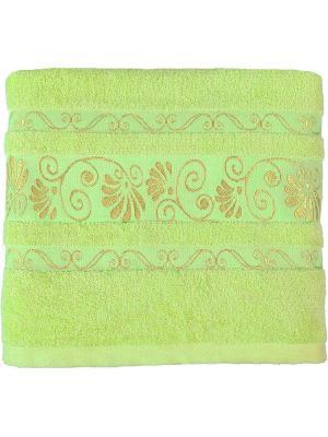 Полотенце BONITA. Цвет: светло-зеленый