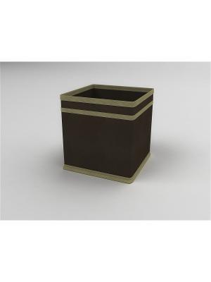 Кофр Камея. Цвет: коричневый