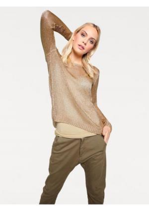 Пуловер RICK CARDONA by Heine. Цвет: золотистый