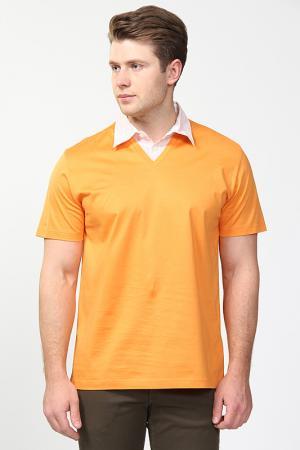 Поло Fiume. Цвет: оранжевый