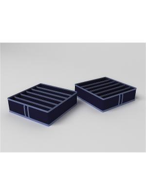 Органайзеры для хранения Камея. Цвет: синий