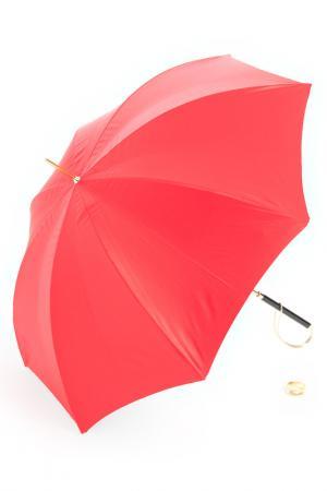 Зонт Pasotti. Цвет: красный