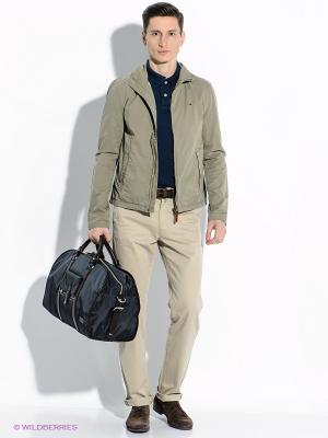 Куртка Tommy Hilfiger. Цвет: серо-зеленый
