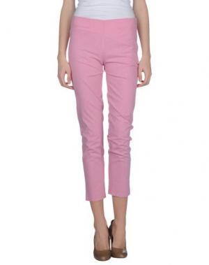 Повседневные брюки KILTIE. Цвет: светло-фиолетовый