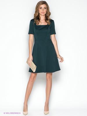Платье adL. Цвет: темно-зеленый