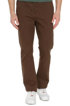 Джинсы с карманами RJ. Цвет: коричневый