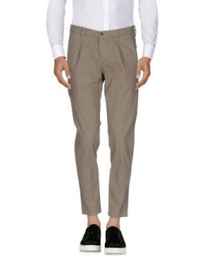 Повседневные брюки ZERO. Цвет: серый