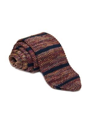 Галстук Churchill accessories. Цвет: черный, темно-синий, синий, темно-коричневый, темно-бордовый, оранжевый