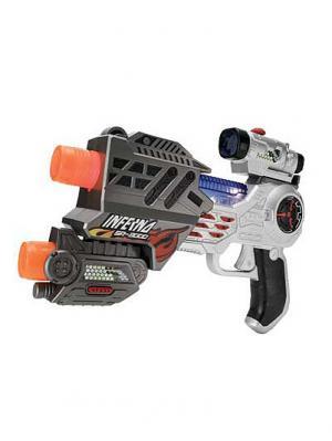Лазерный пистолет Hap-P-Kid. Цвет: серый (осн.), черный