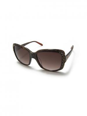 Солнцезащитные очки MI 817S 02 Missoni. Цвет: коричневый