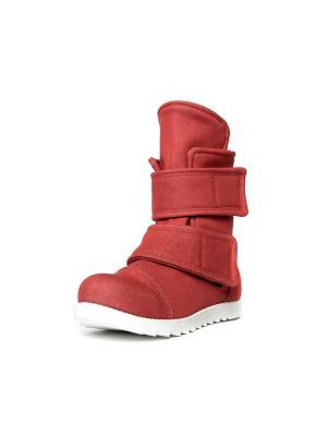 Ботинки AZ-ART. Цвет: красный