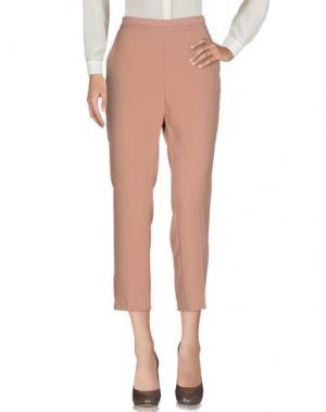 Повседневные брюки KAOS. Цвет: телесный