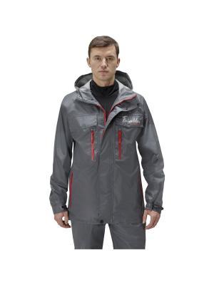 Куртка Риф V2 Nova tour. Цвет: темно-серый