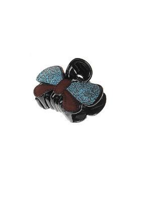 Заколка-краб Gusachi. Цвет: коричневый, синий