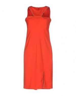 Платье до колена LUNATIC. Цвет: красный
