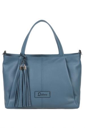 Рюкзак Deboro. Цвет: голубой