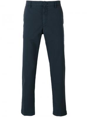 Прямые брюки Pence. Цвет: синий