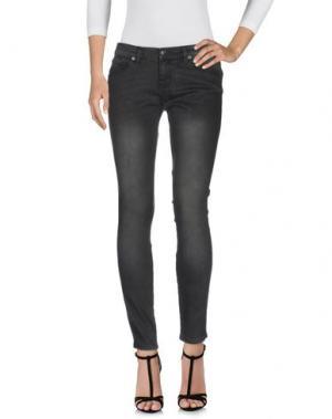Джинсовые брюки KSUBI. Цвет: свинцово-серый