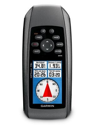 Навигатор туристический GPSMAP 78S Russia GARMIN. Цвет: серый