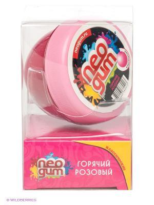 Перламутровая жвачка Neogum. Цвет: розовый