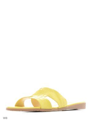 Пантолеты Saivvila. Цвет: желтый
