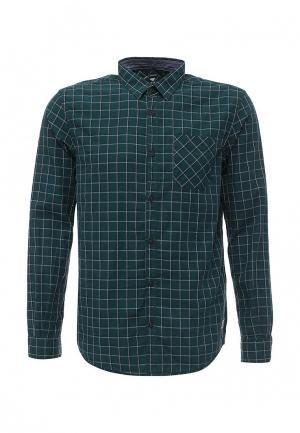Рубашка Tom Tailor. Цвет: бирюзовый