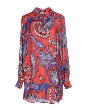 Короткое платье MARY KATRANTZOU. Цвет: красный