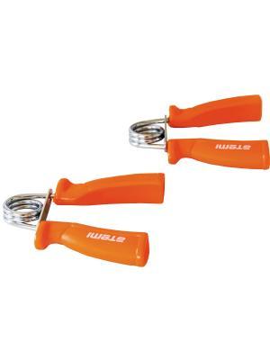 Эспандер кистевой (жесткие ручки), 2 шт Atemi, AHG-01 Atemi. Цвет: оранжевый