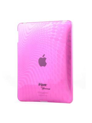 Чехол-панель эластичный для iPad 1 Belsis. Цвет: розовый