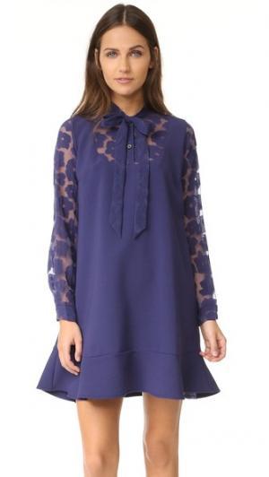 Платье с Hiro Paul & Joe Sister. Цвет: подлинный индиго