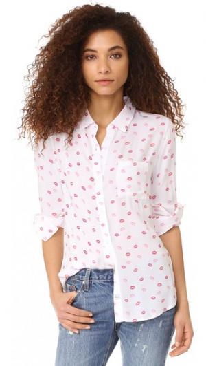 Рубашка на пуговицах Rocsi Kiss Me RAILS. Цвет: kiss me