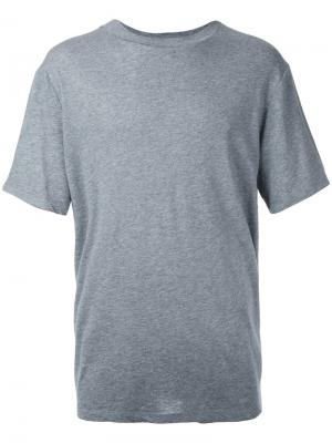 Классическая футболка T By Alexander Wang. Цвет: серый