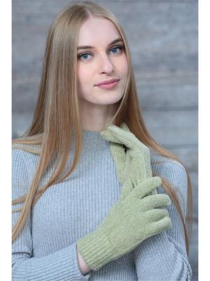 Перчатки Krife. Цвет: светло-зеленый
