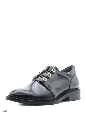 Ботинки NMNH. Цвет: черный