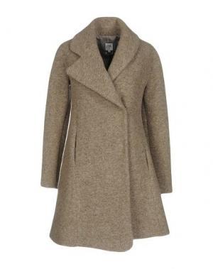 Пальто OPENING CEREMONY. Цвет: голубиный серый