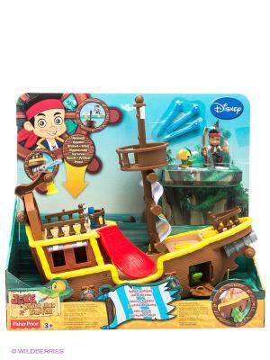 Корабль пиратский Бакки Jake & the Neverland Pirates. Цвет: коричневый