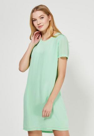 Платье Calvin Klein Jeans. Цвет: зеленый