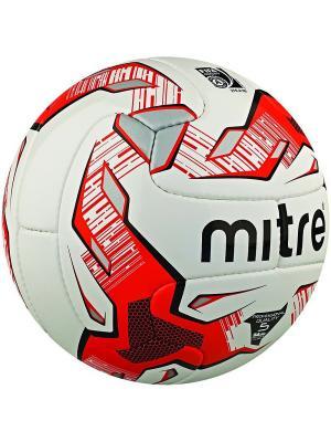 Мяч футбольный MITRE MAX V12S FIFA Approved размер 5. Цвет: черный,красный,белый