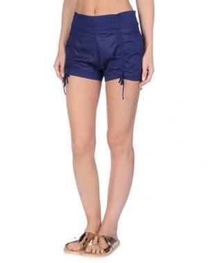 Пляжные брюки и шорты EMPORIO ARMANI SWIMWEAR. Цвет: темно-синий