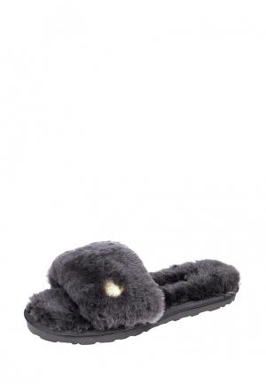 Тапочки Marissimo. Цвет: серый