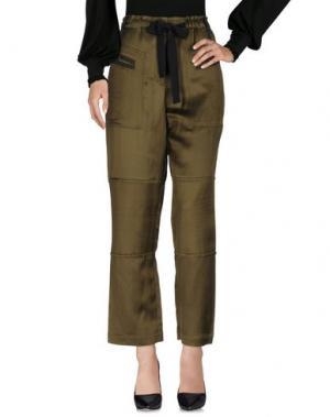 Повседневные брюки ELIZABETH AND JAMES. Цвет: зеленый-милитари