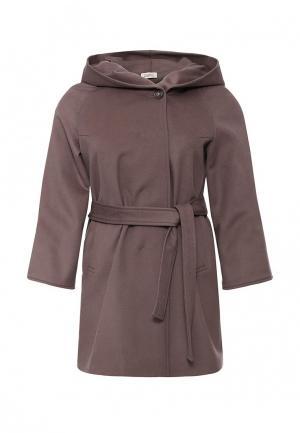 Пальто Grafinia. Цвет: коричневый