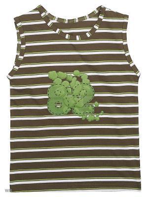 Майка Bars. Цвет: зеленый